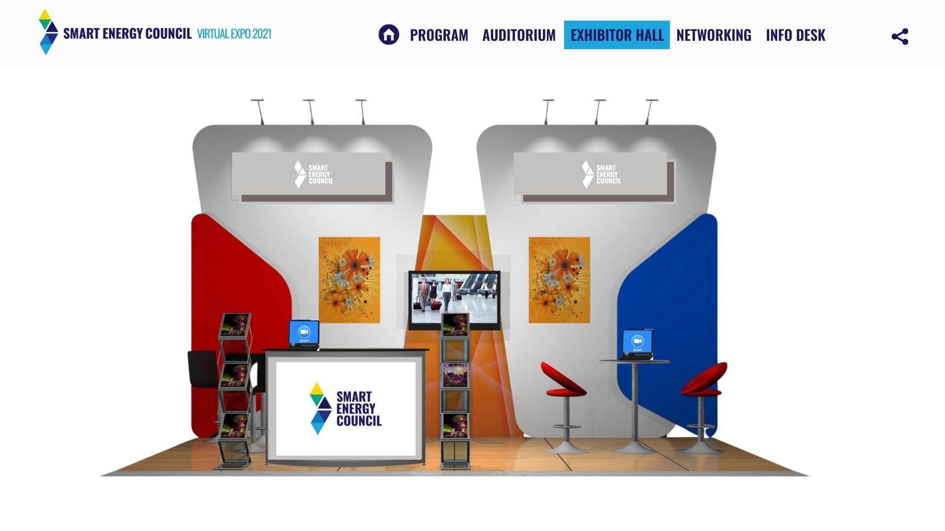 Virtual Expo design 2021